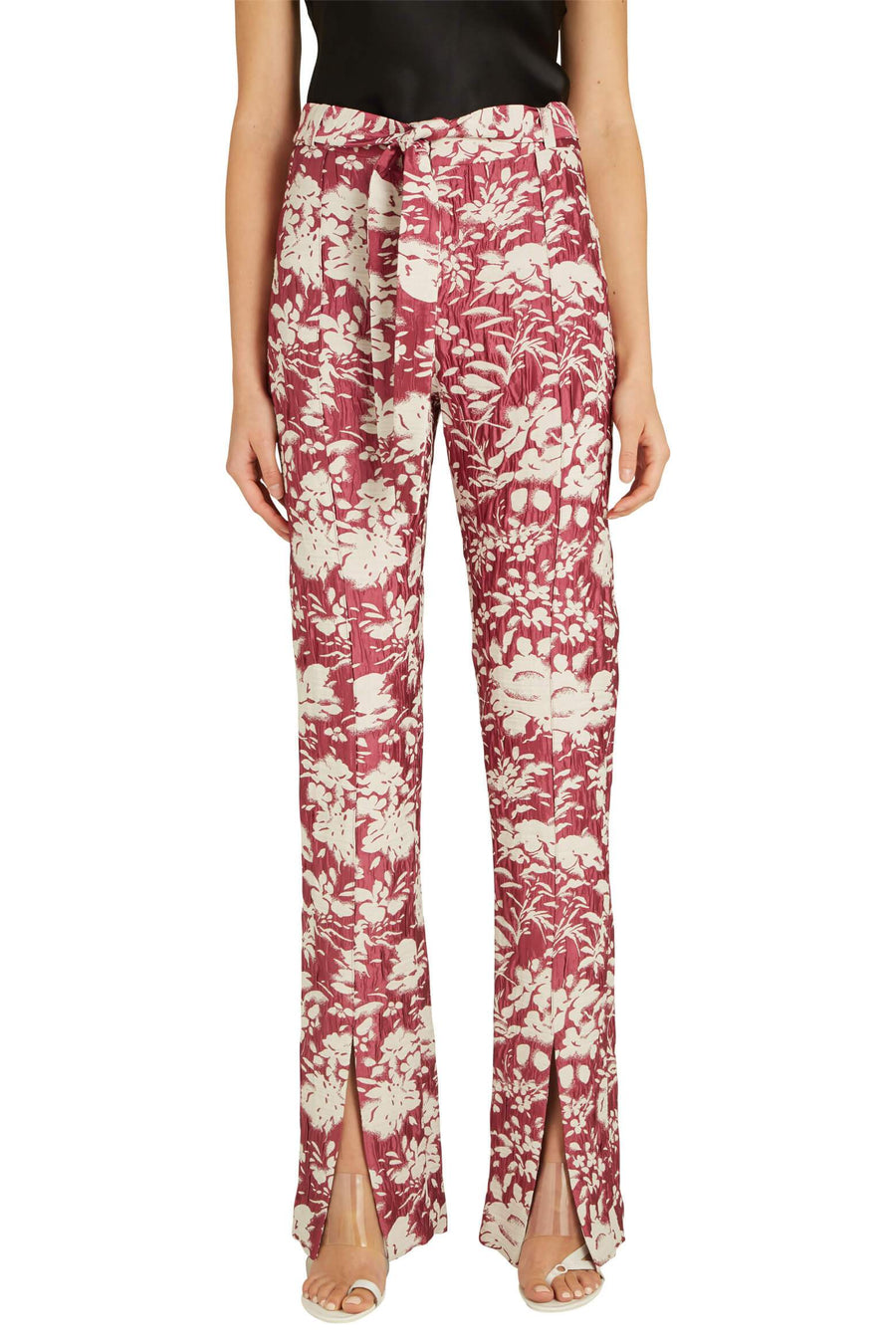 Alexis Burgos Pants in Fuchsia from The New Trend