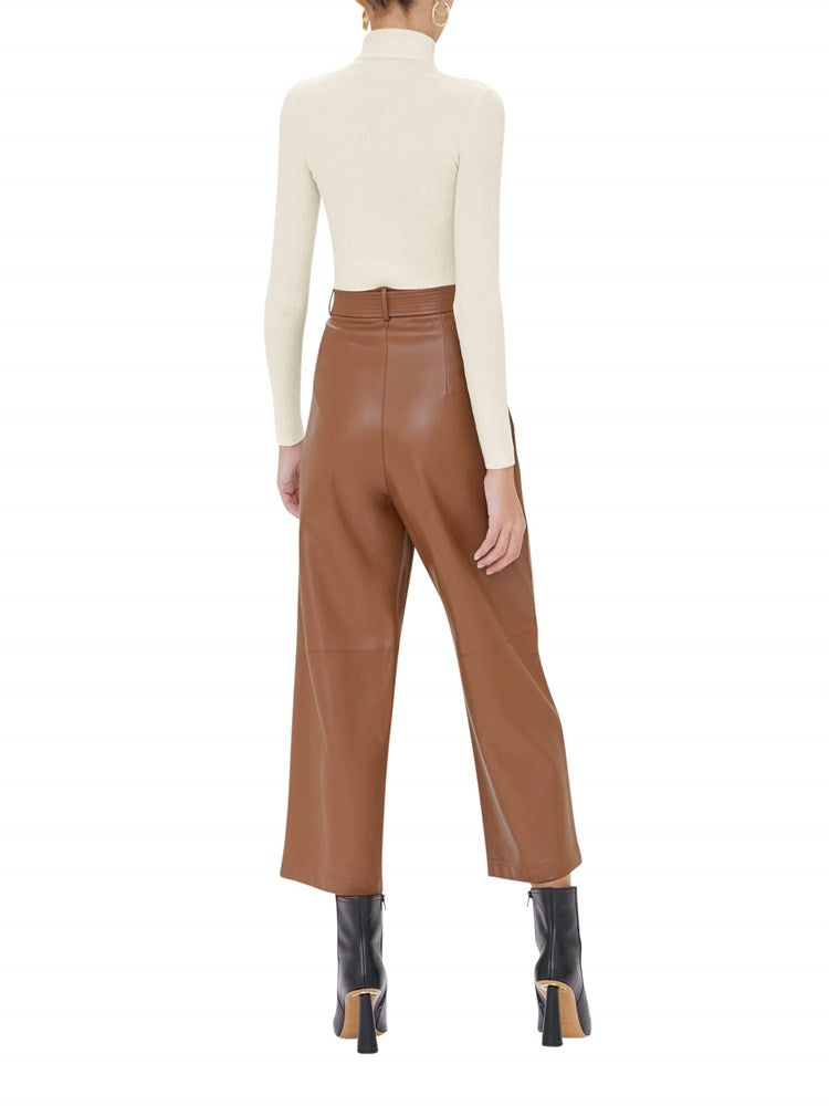 Alexis Roy Pant in Aragon Brown from The New Trend