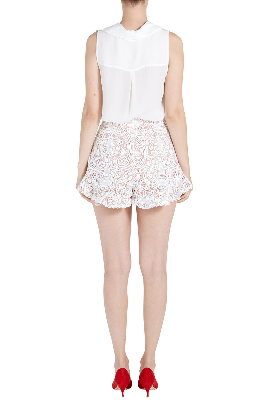 BARRON LACE SHORT