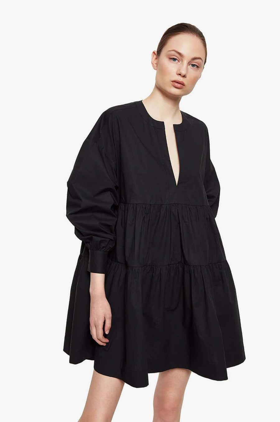Anine Bing Addison Dress in Black from The New Trend