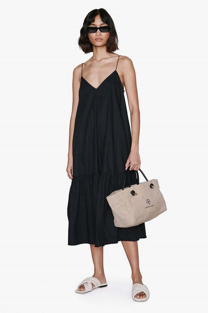Anine Bing Averie Dress in Black from The New Trend