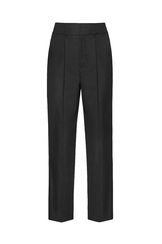 Anine Bing Becky Trouser in Black from The New Trend