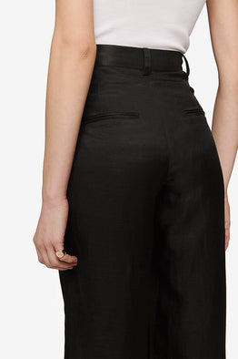 Anine Bing Carla Pant Black from The New Trend