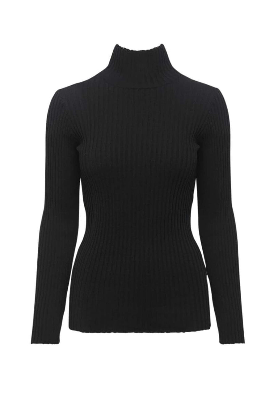 Anine Bing Clare Top in Black available at The New Trend