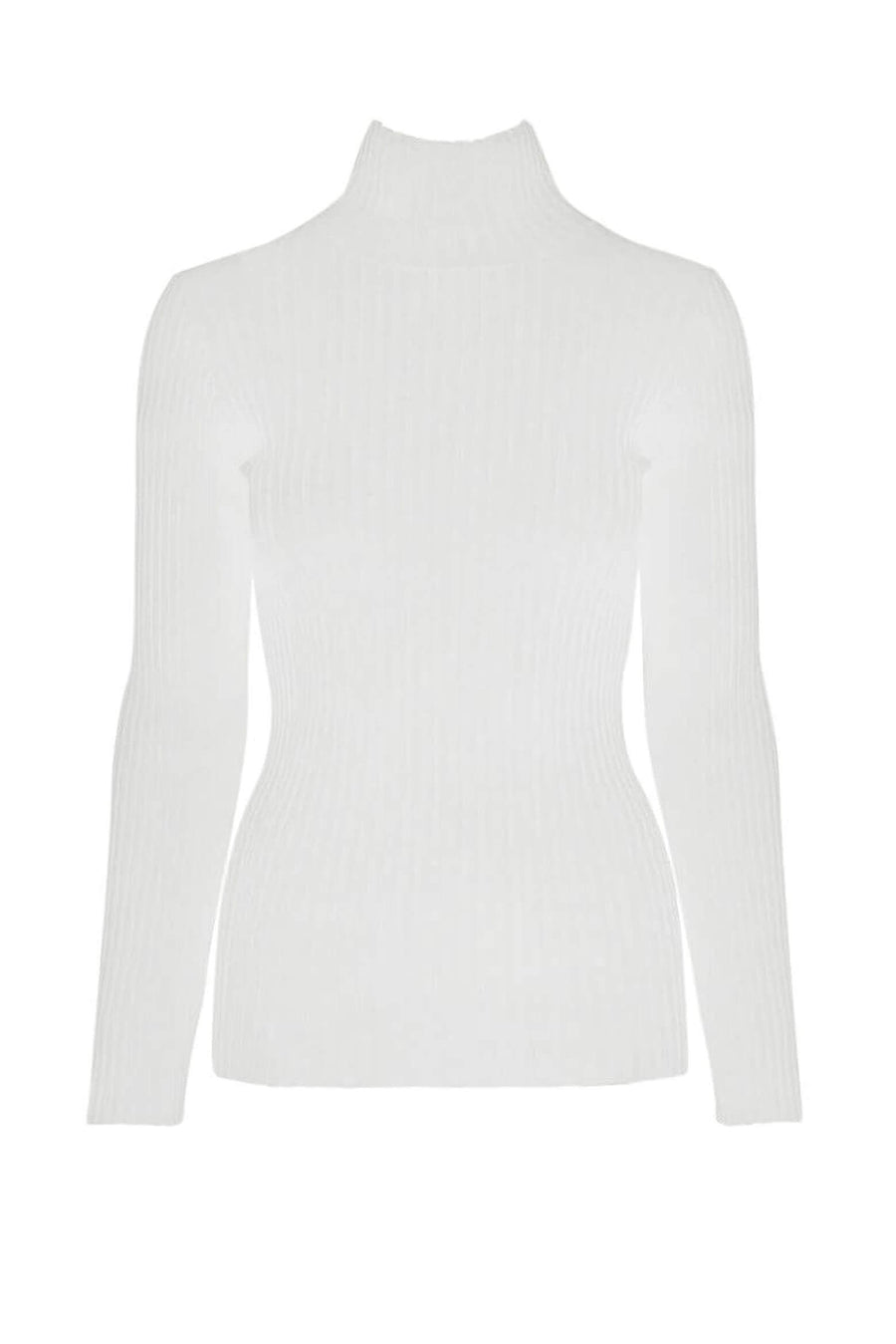 Anine Bing Clare Top in Ivory available at The New Trend