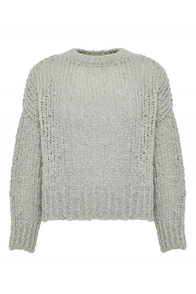 Anine Bing Greyson Sweater in Dusty Mint from The New Trend