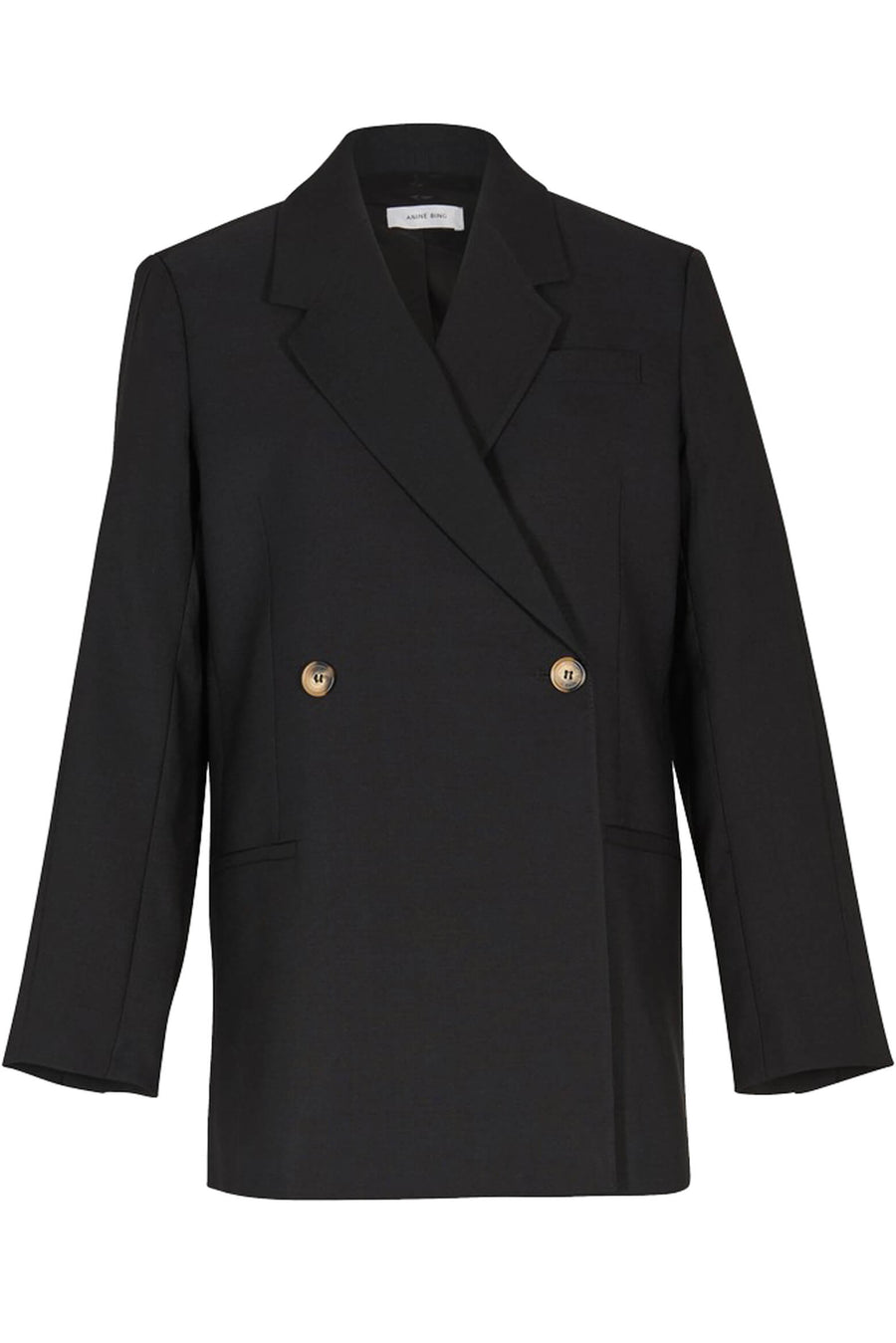 Anine Bing Kaia Blazer in Black from The New Trend