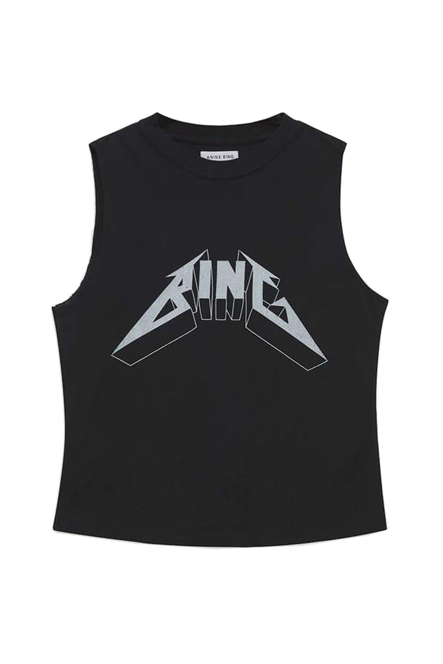 Anine Bing Lenon Tee Bing in Black from The New Trend