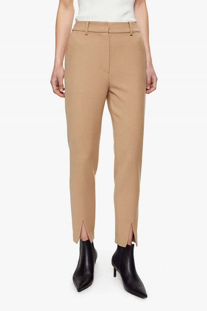 Anine Bing Ophelia Trouser in Beige from The New Trend