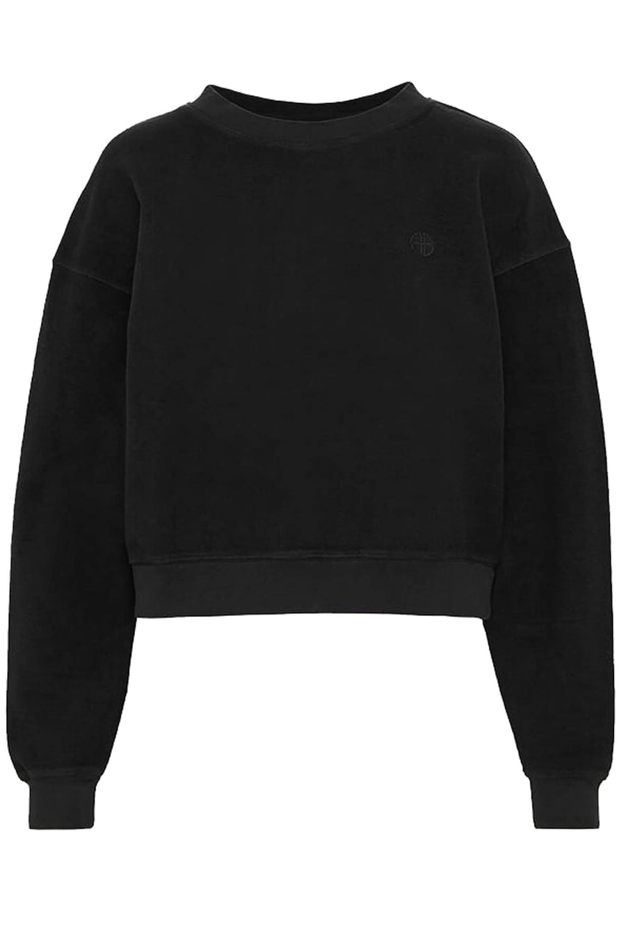 Anine Bing Reed Sweatshirt in Black from The New Trend