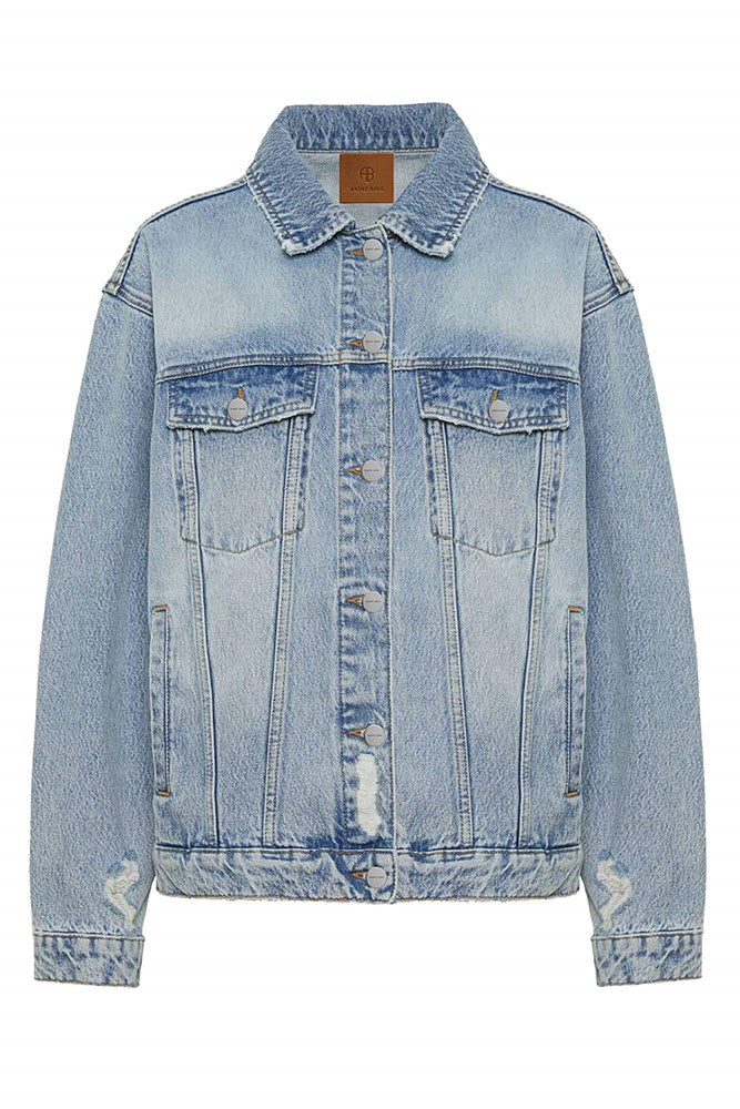 Anine Bing Rory Denim Jacket from The New Trend