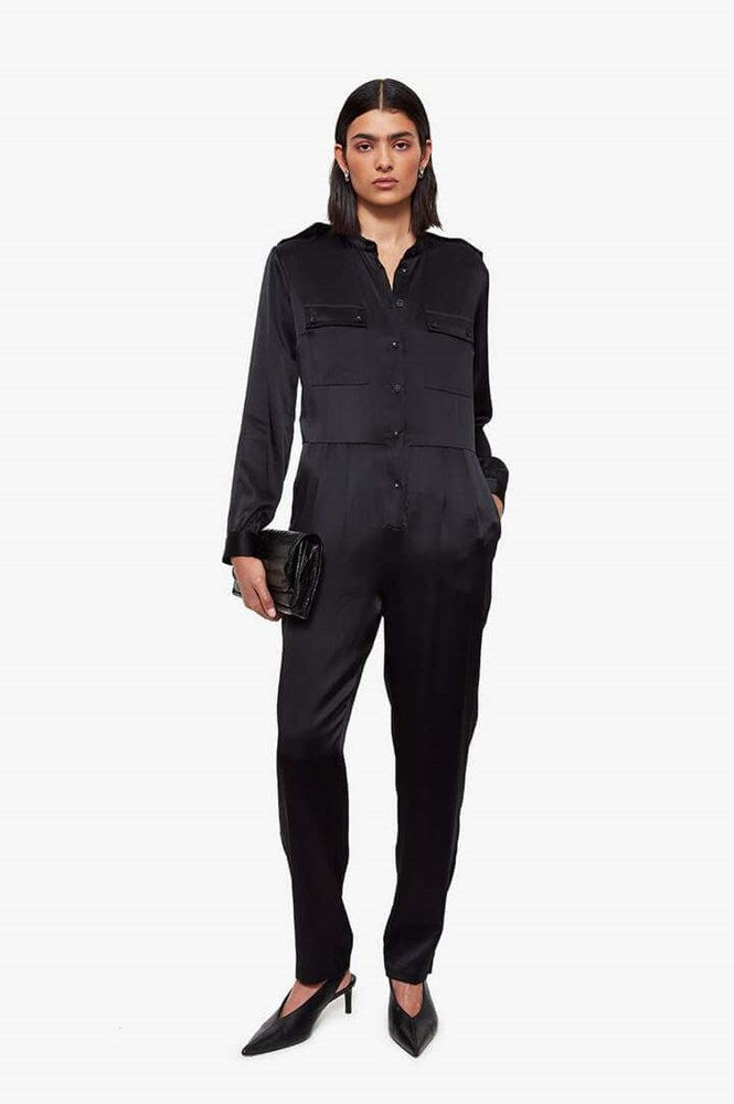Anine Bing Rosalie Jumpsuit in Black from The New Trend