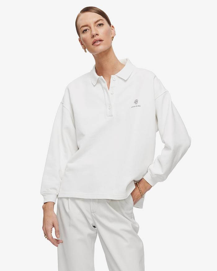 Anine-Bing-Tatum-Sweatshirt-White-The-New-Trend