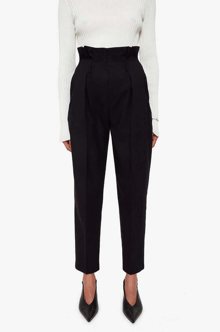 Anine Bing Yves Trouser available at The New Trend