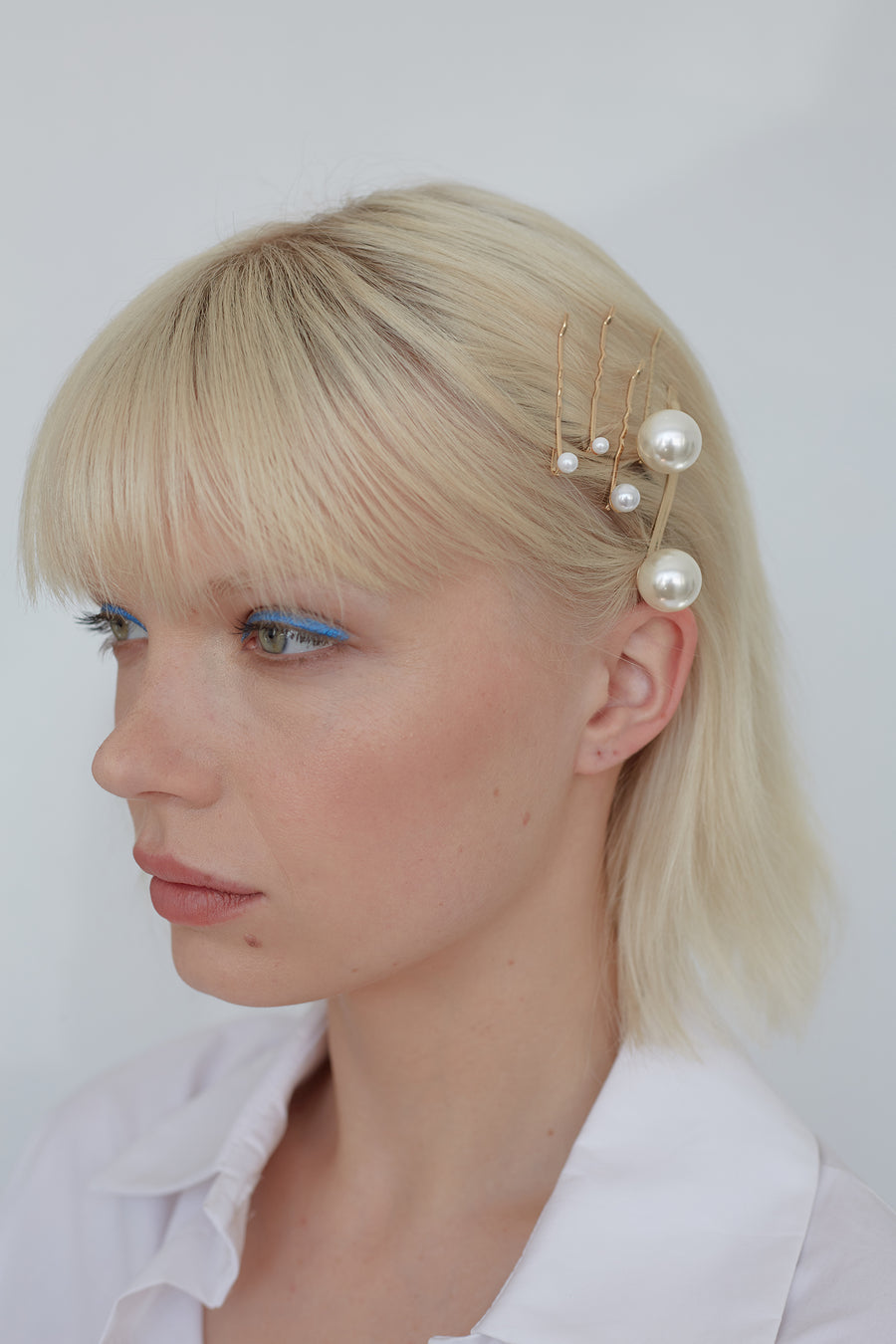 Avenue Stardust Hair Pins in Gold and Pearl from the The New Trend