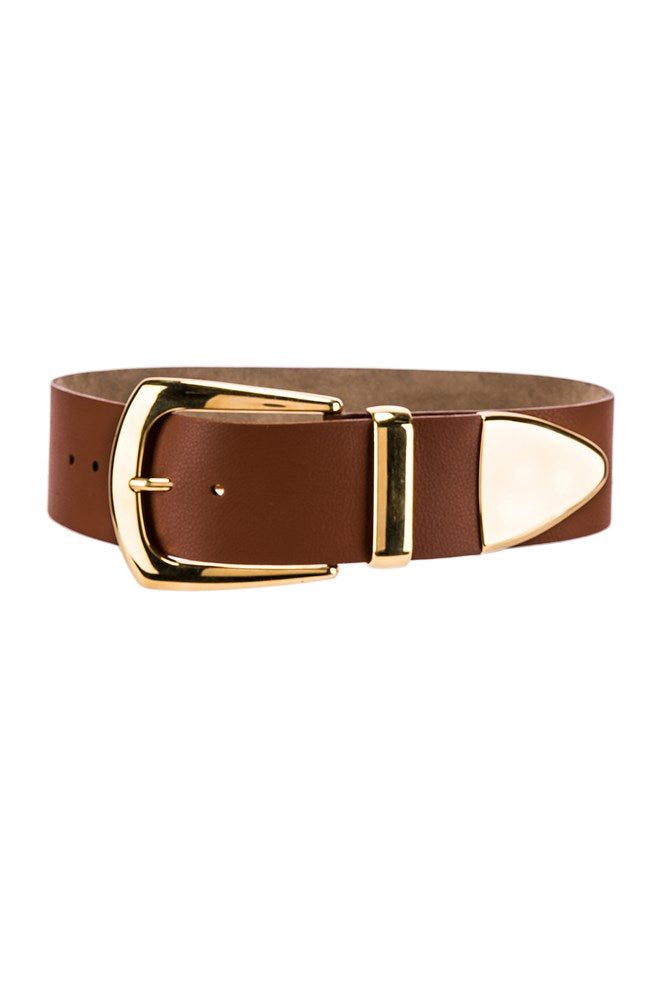 B-Low The Belt Jordana Belt in Brand and Gold from The New Trend