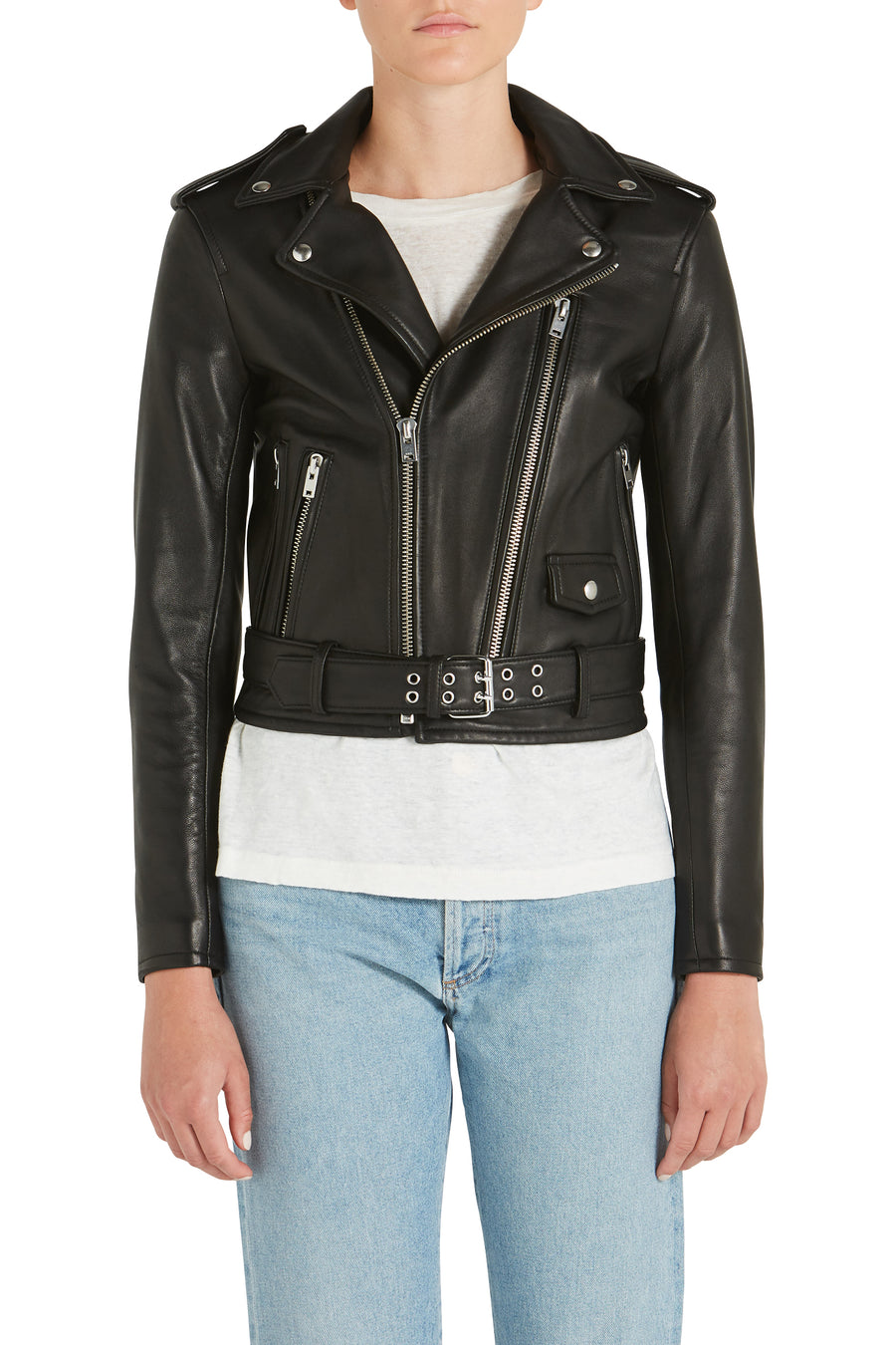 ILLUSIVE LEATHER JACKET