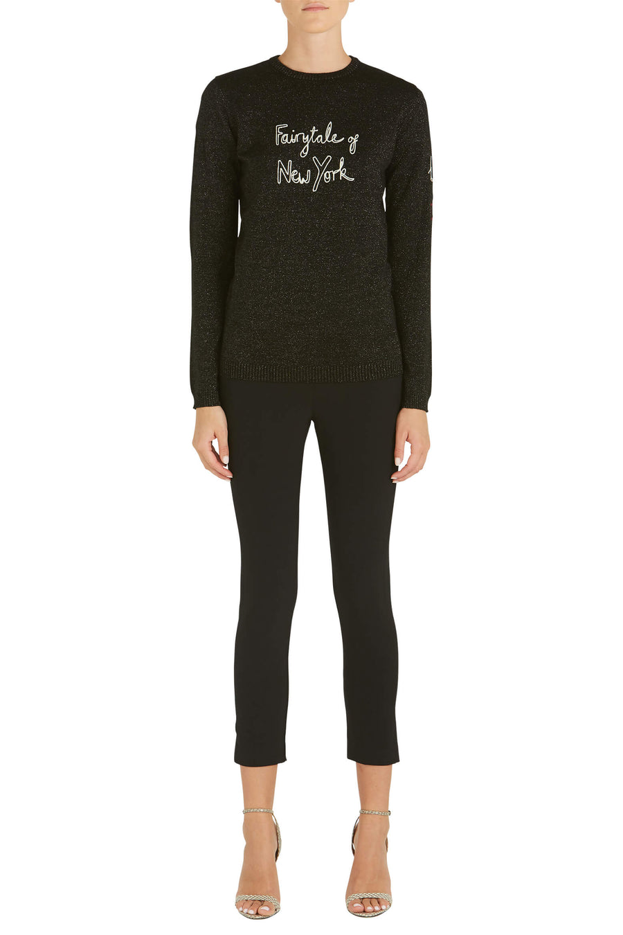 Bella-Freud-Fairytale-of-New-York-Jumper-Black-The-New-Trend