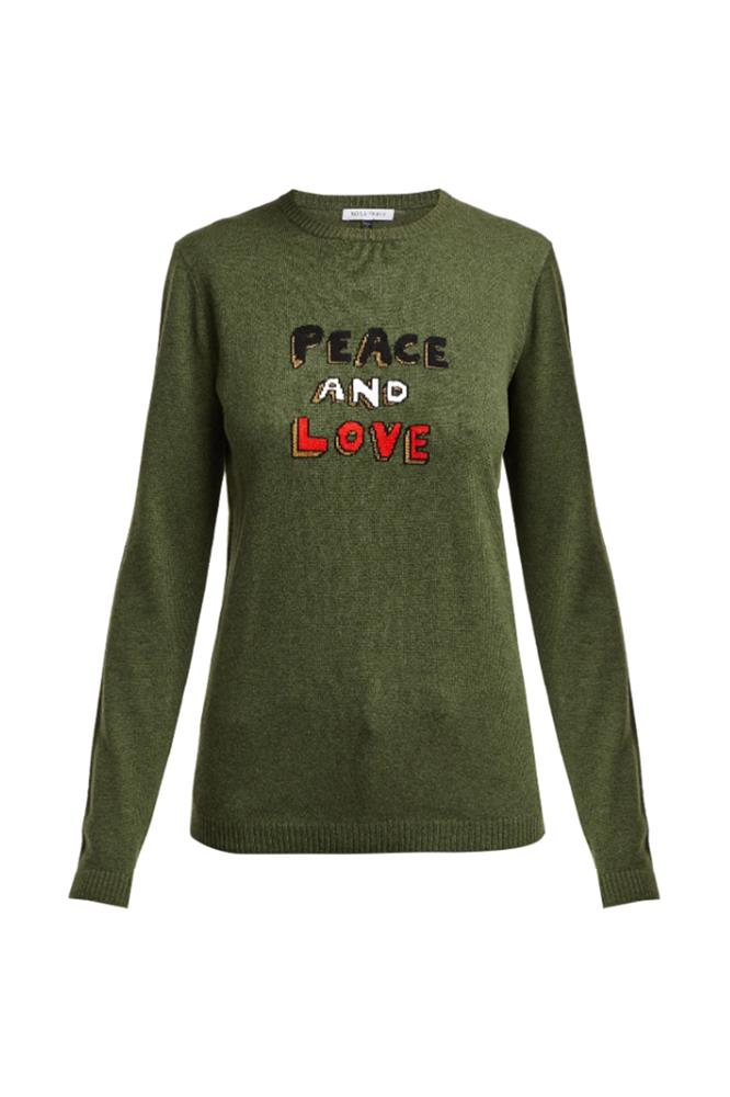 PEACE AND LOVE CASHMERE