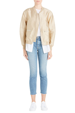 3.1 Phillip Lim Bomber Jacket With Underlay from The New Trend Styled