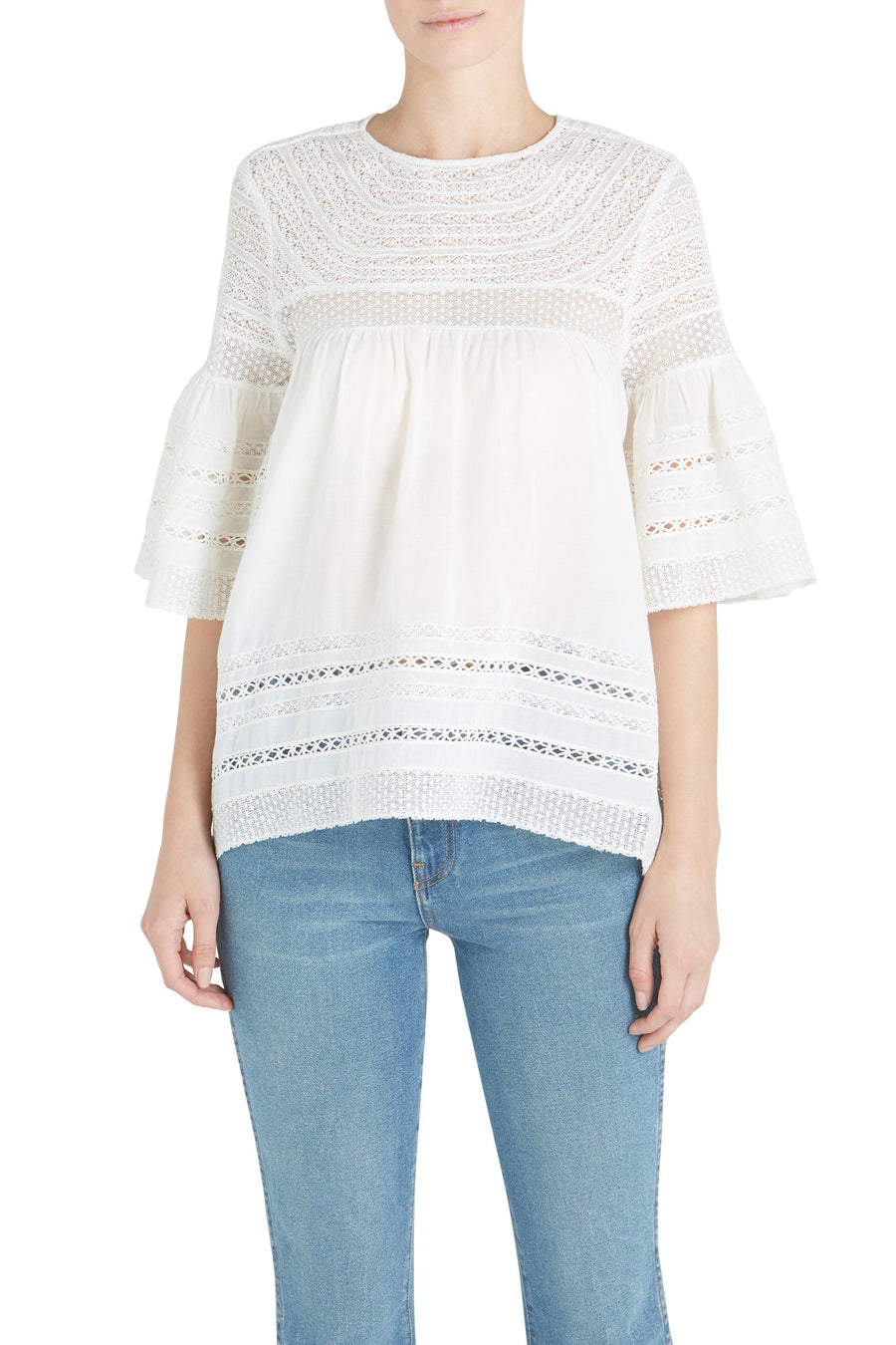 SEVI LACE TOP