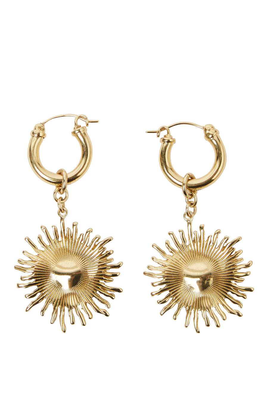 SCULLY SMALL SUN EARRING