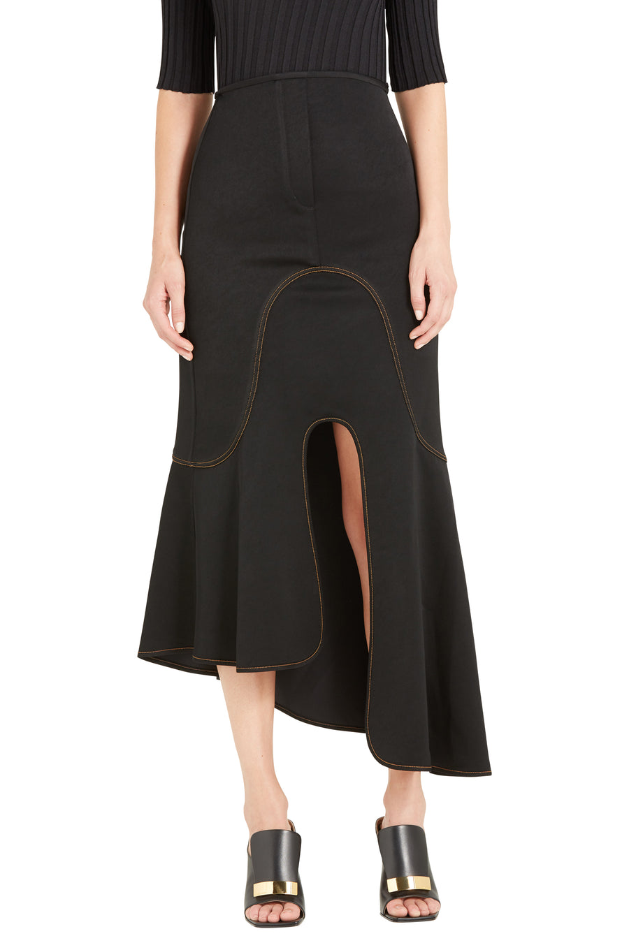 ORBIT ASYMETRICAL SKIRT