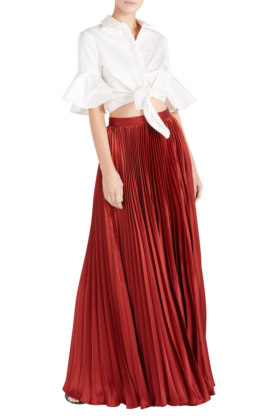ANNIE PLEATED SKIRT