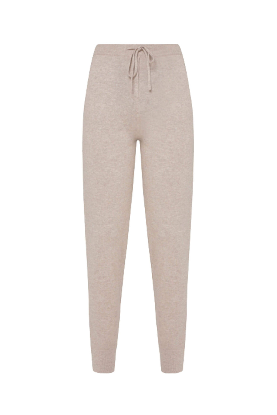 Chinti & Parker Cashmere Trackpant in Oatmeal from The New Trend