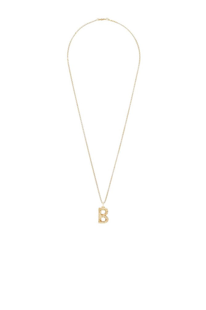 Chloe Alphabet Necklace B in Gold from The New Trend