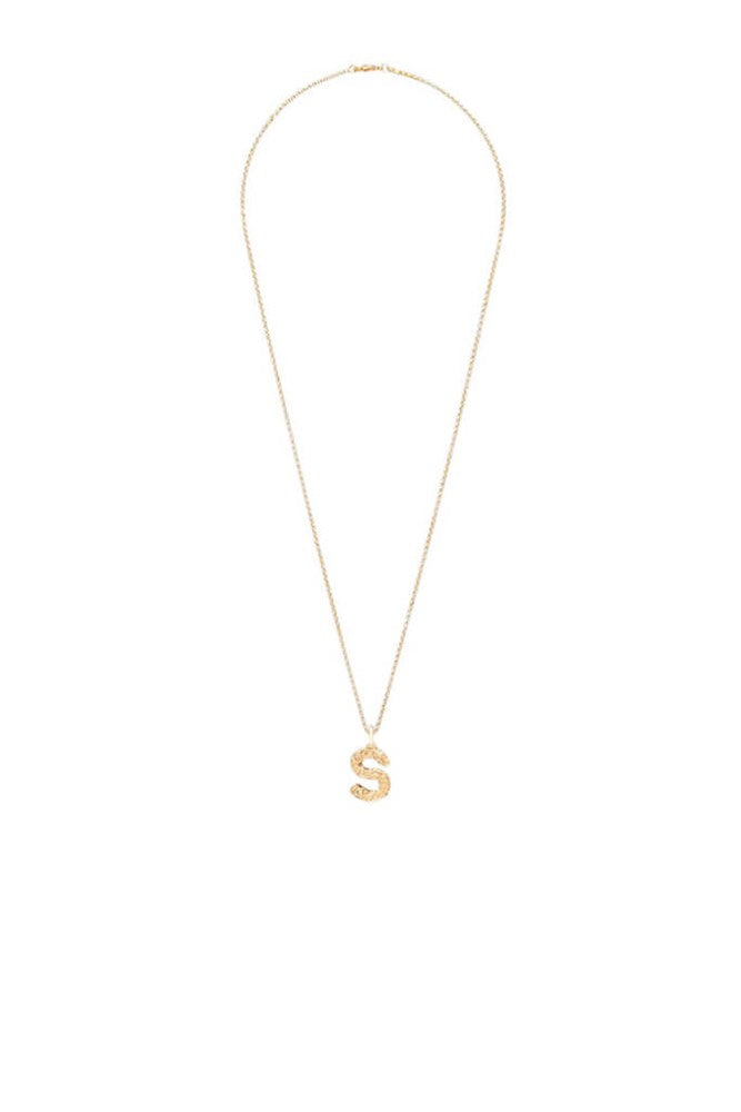 Chloe Alphabet Necklace S in Gold from The New Trend