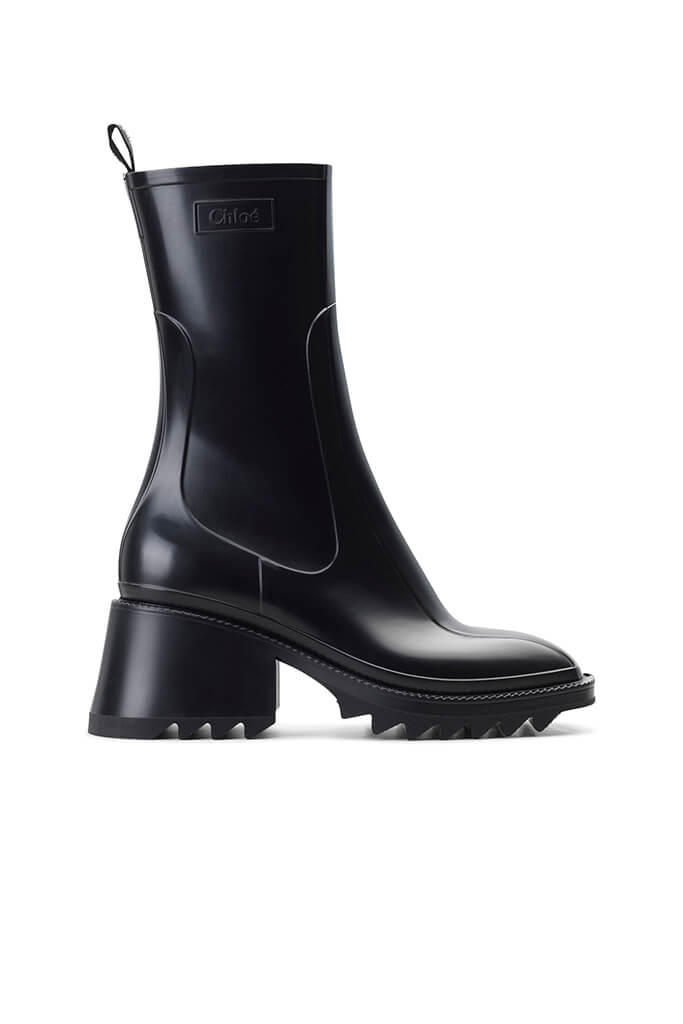 Chloe Betty Ankle Gumboot in Black from The New Trend