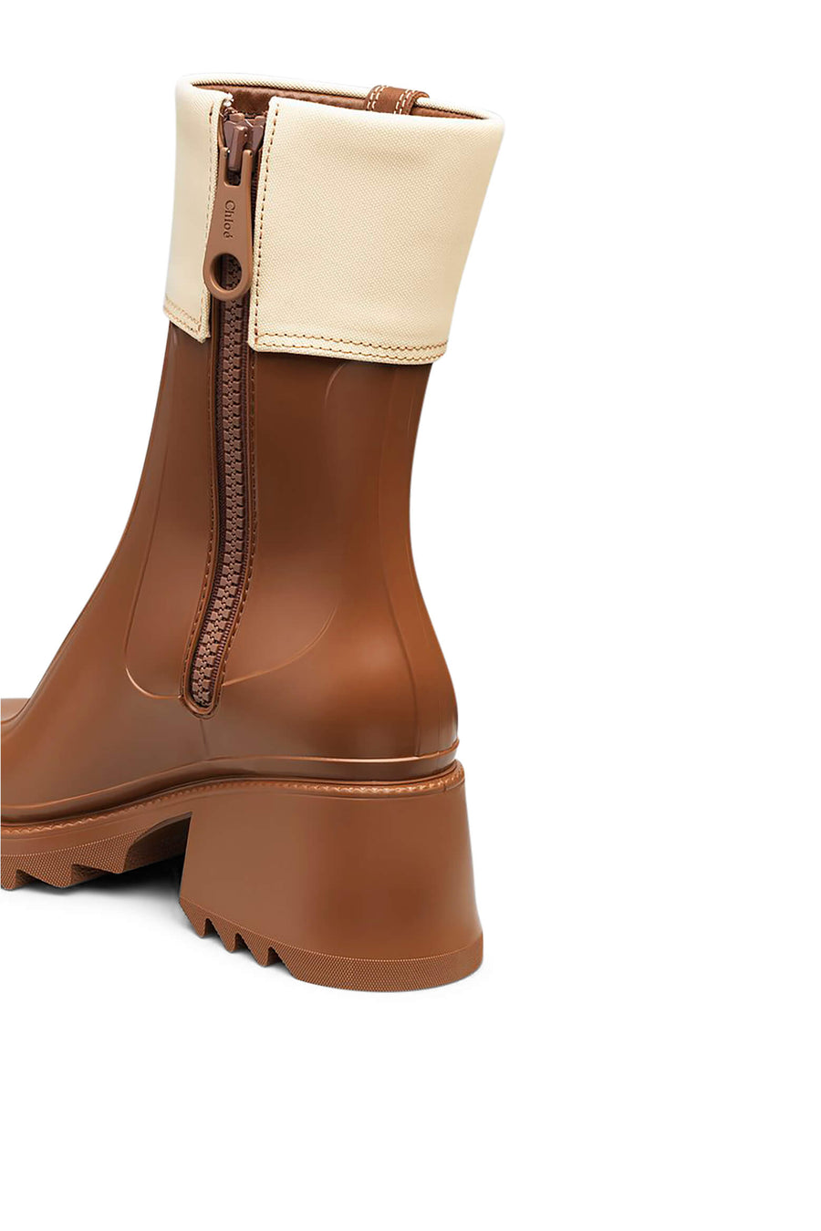 Chloe Betty Ankle Gumboot in Brown from The New Trend