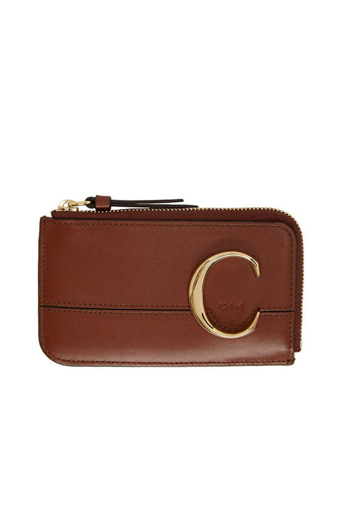 Chloé C Small Purse in Sepia Brown from The New Trend