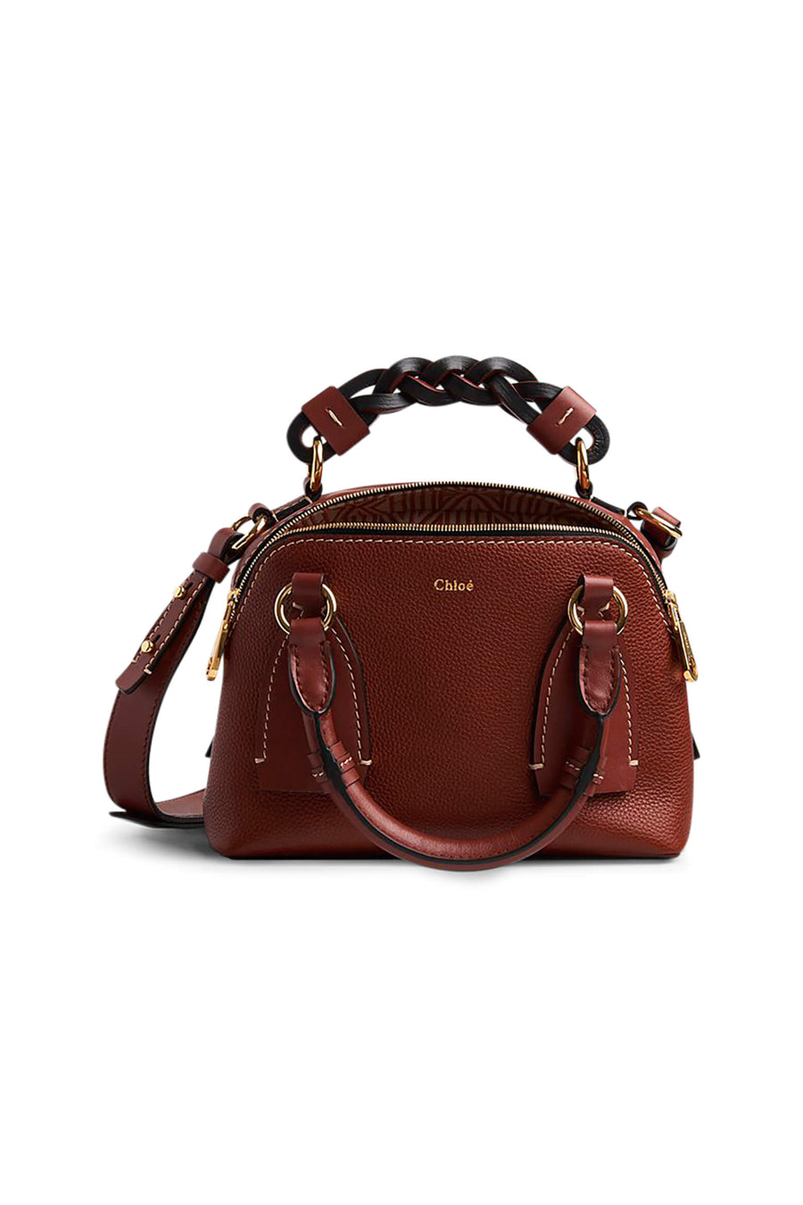 Chloe Daria Small Bag in Sepia Brown from The New Trend