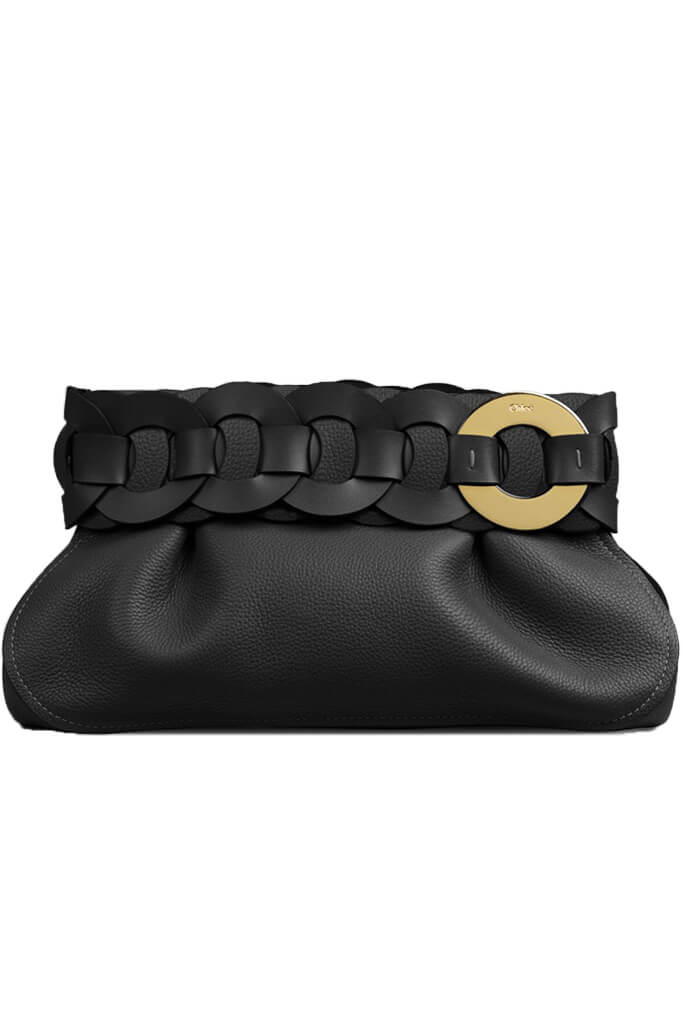 Chloe Darryl Clutch in Black from The New Trend