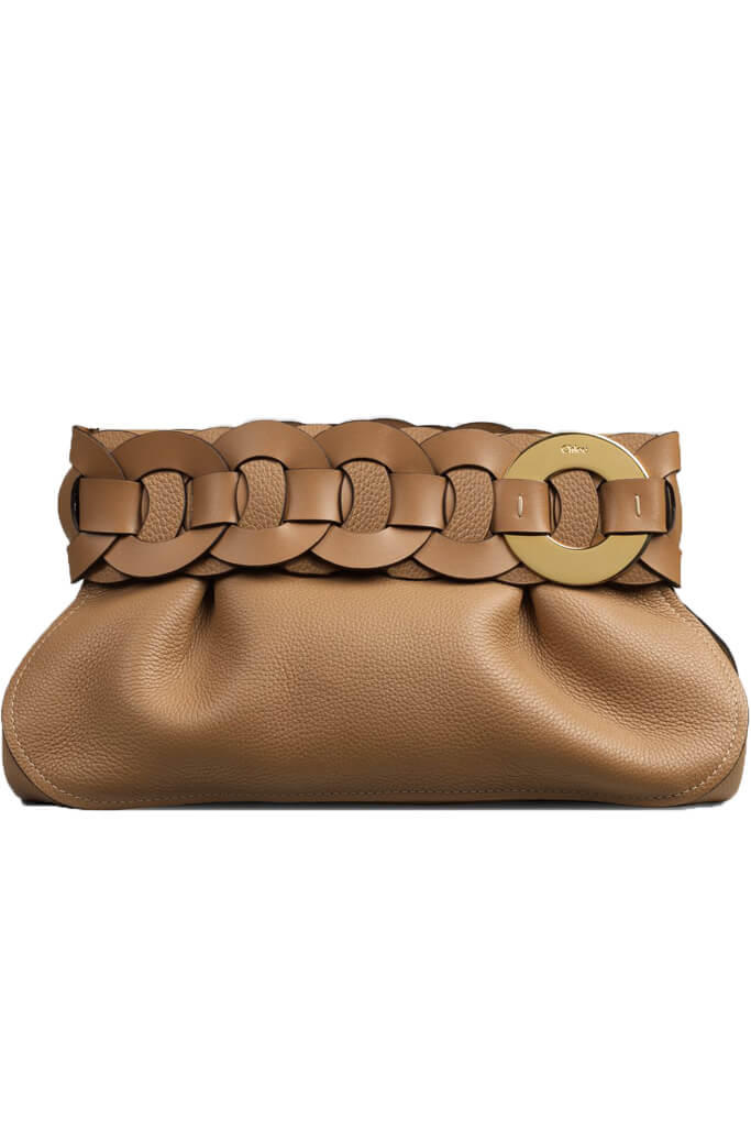 Chloe Darryl Clutch in Brown from The New Trend
