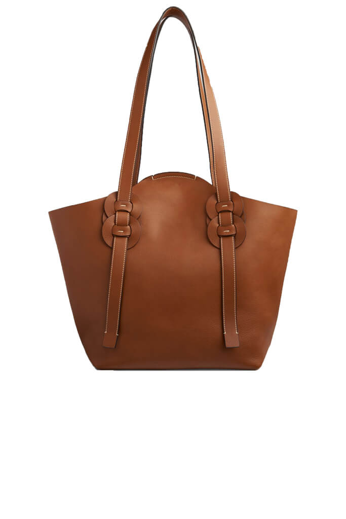 Chloe Darryl Tote Bag in Caramel from The New Trend