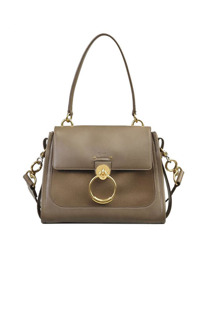 Chloe Tess Day Bag Small in Army Green from The New Trend