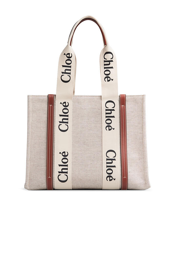 Chloe Medium Woody Tote from The New Trend
