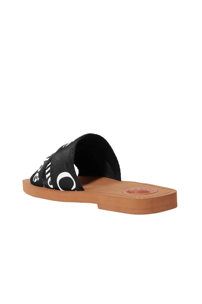 Chloe Woody Slide in Black from The New Trend