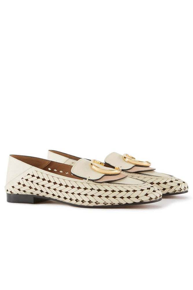 CHLOE C LASERED LOAFER