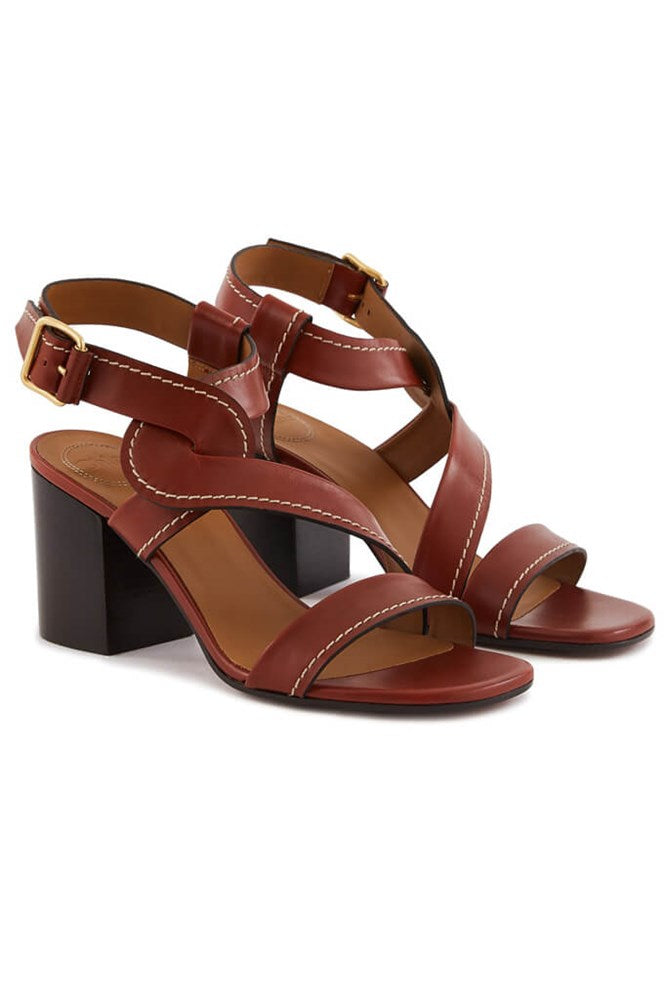 Chloe Candice Leather Sandal from The New Trend
