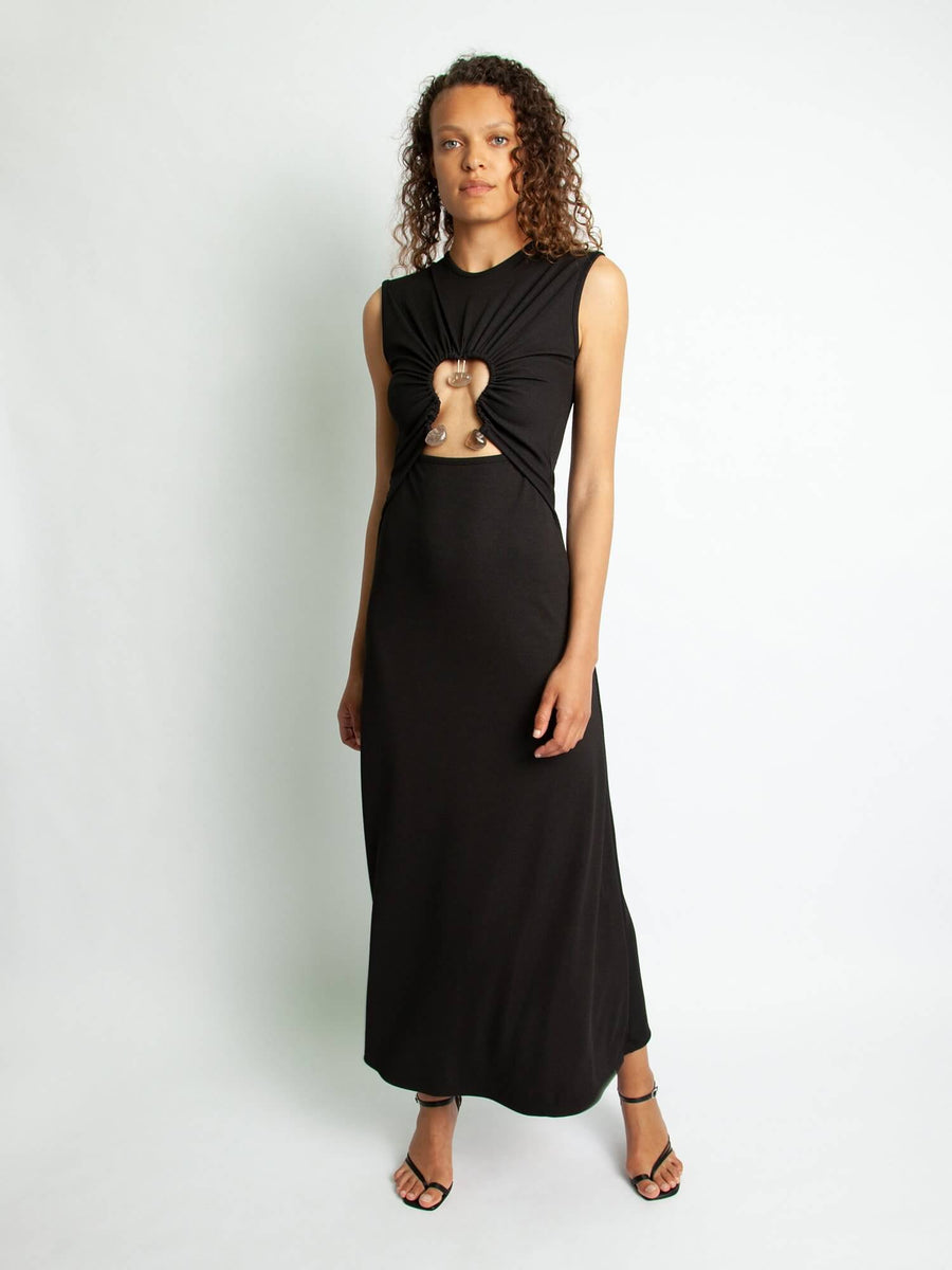 HIERO QUARTZ DISCONNECTED TANK DRESS