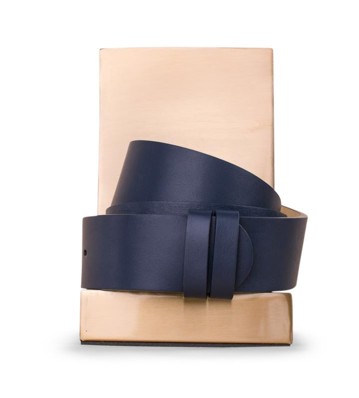Clinch Belts Belt Strap in Navy from The New Trend