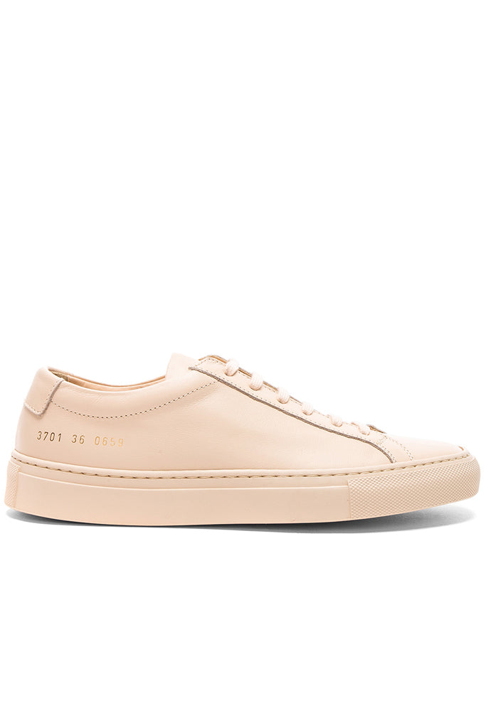 Common Projects Original Achilles Low in nude from The New Trend