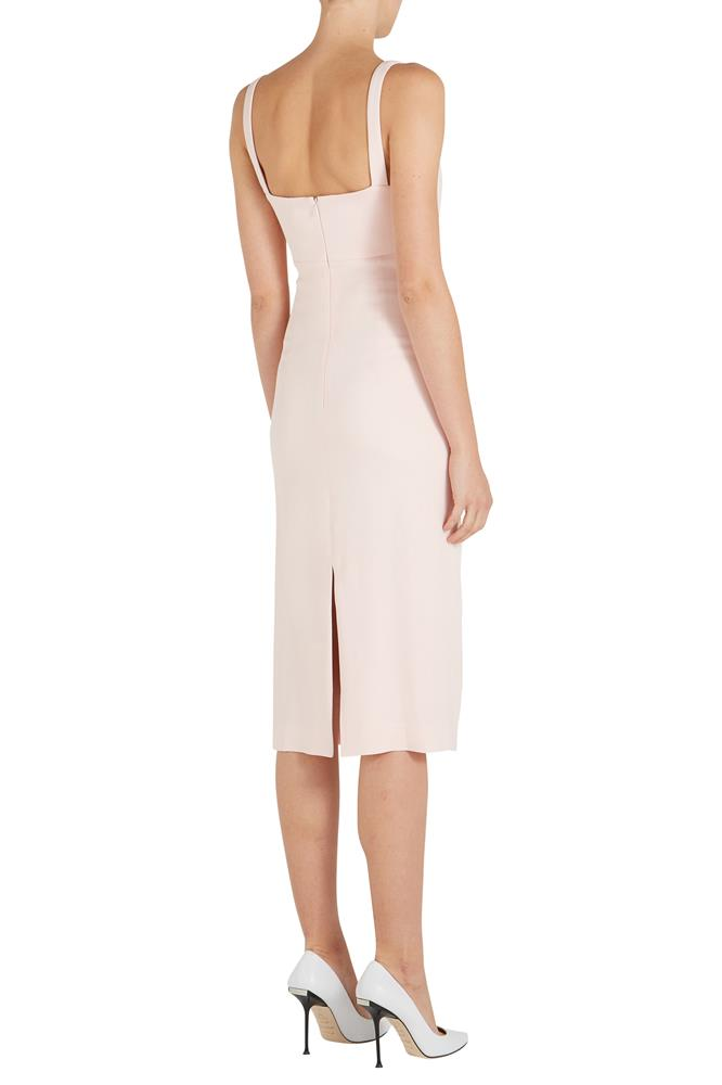 CADY TESSELLATE SHEATH DRESS
