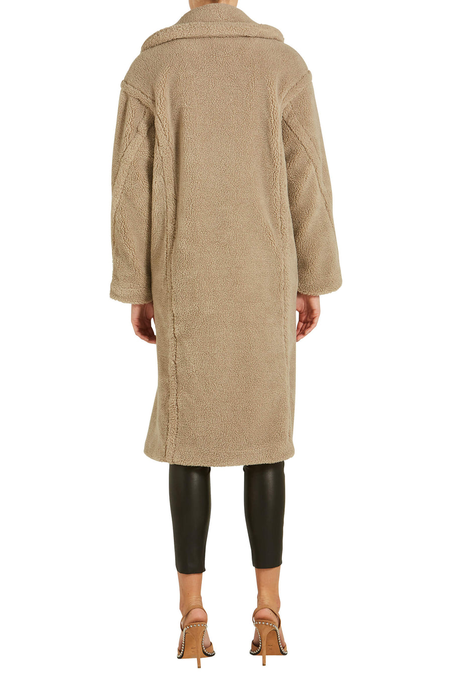 Ducie London Teddy Coat Beige from The New Trend