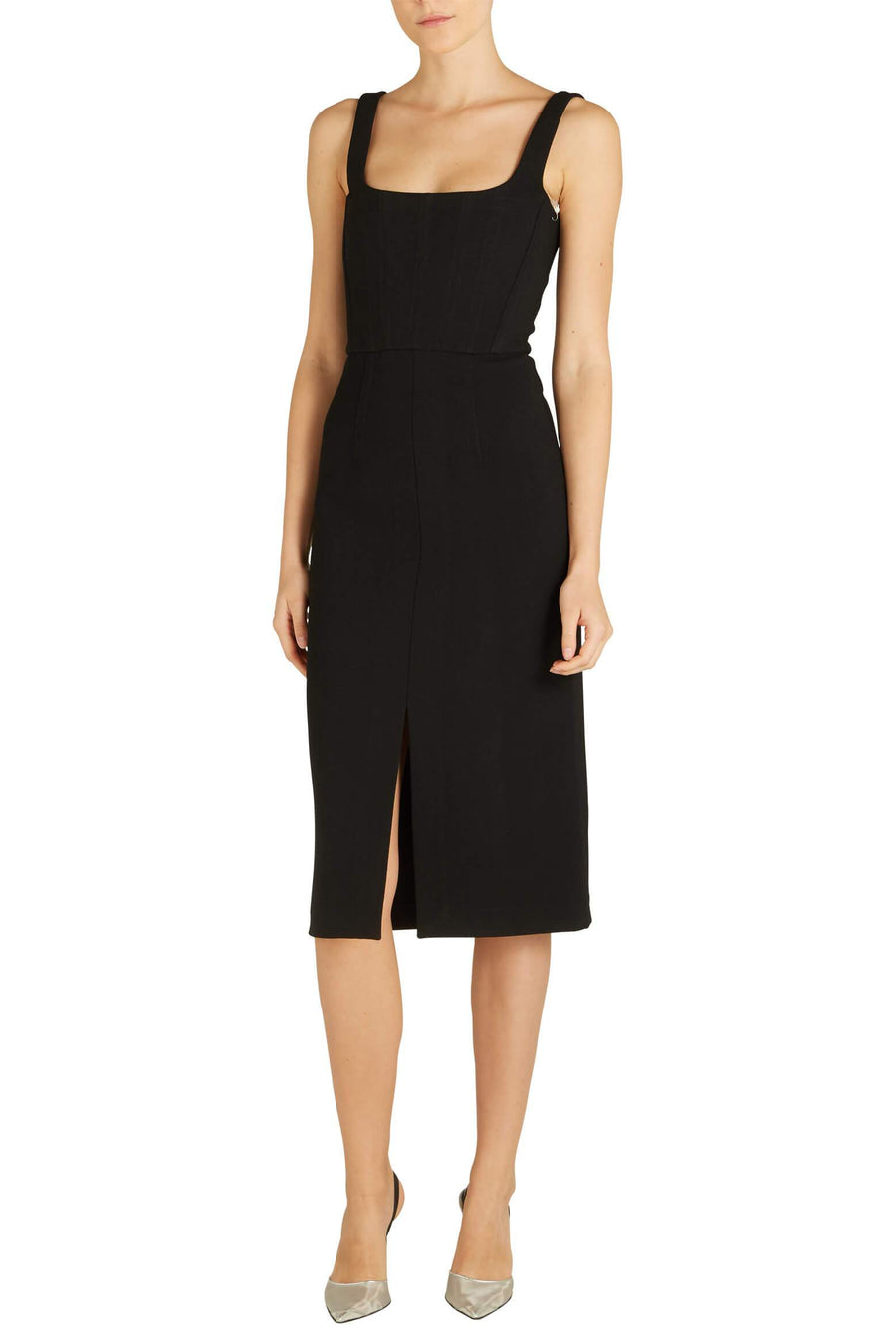 Dion Lee Truss Corset Dress in black from The New Trend