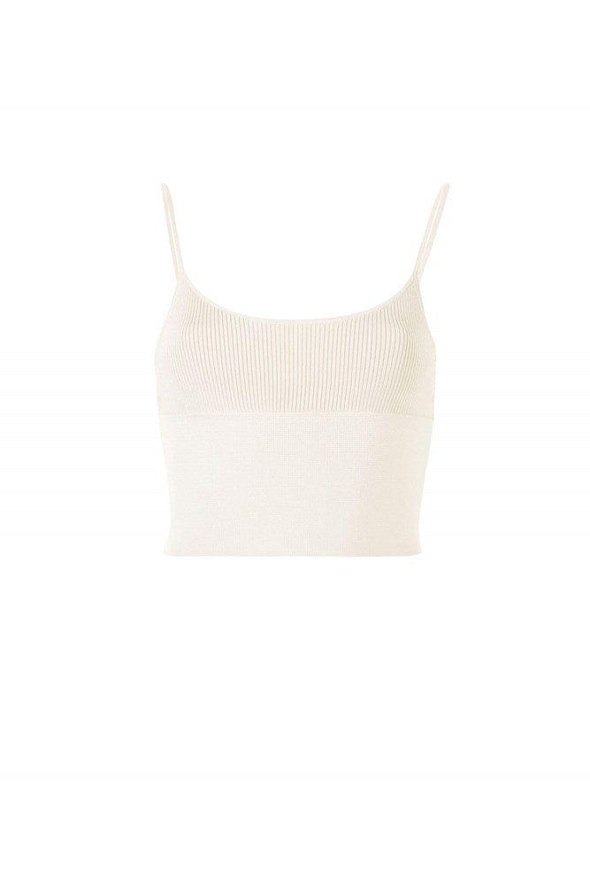 Dion Lee Density Scoop Tank in Wheat from The New Trend